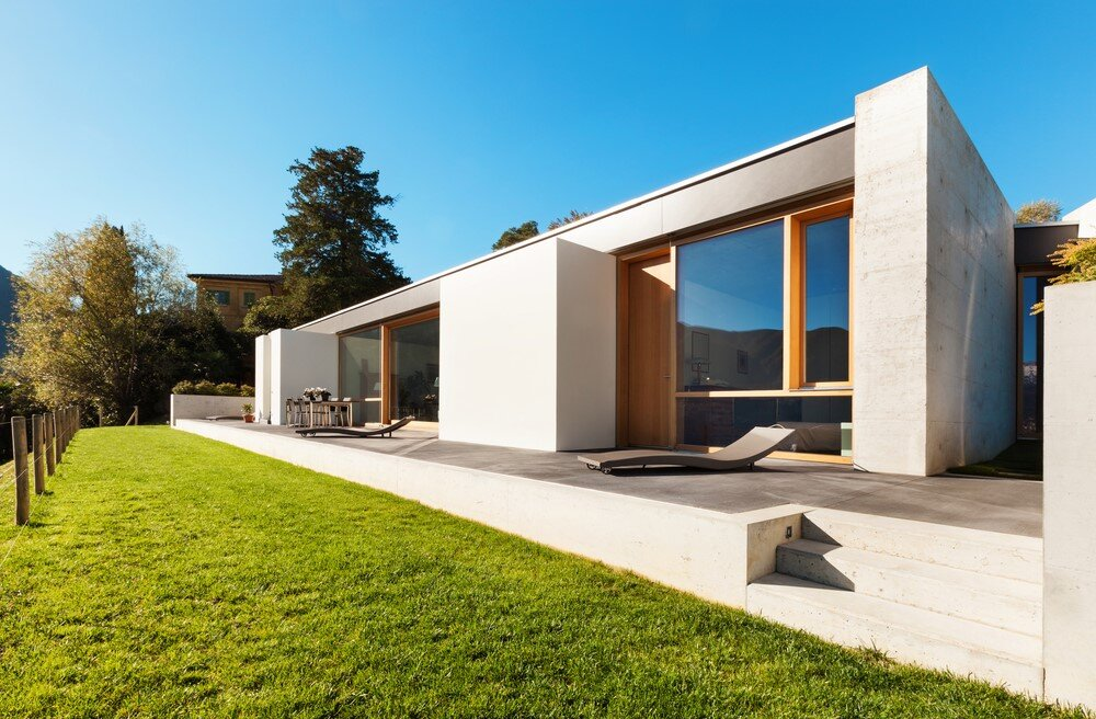 With the affordability and durability new materials provided, why not give the average American a beautifully designed home that integrated with their environment?