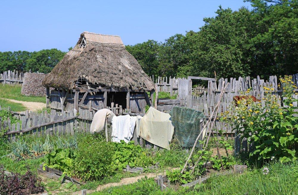 A common 17th Century Home - no windows
