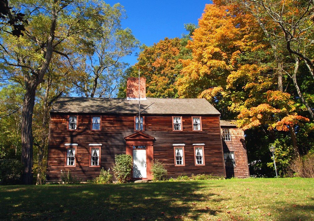 18th Century American Colonial home - windows' expense made them available to only the most wealthy. Even they used them sparingly.
