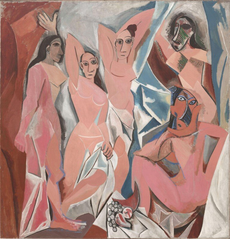 Les Demoiselles d'Avignon by Pablo Picasso shocked the art community in 1907.