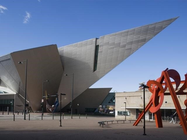 The Denver Art Museum's architect was Daniel Libeskind.