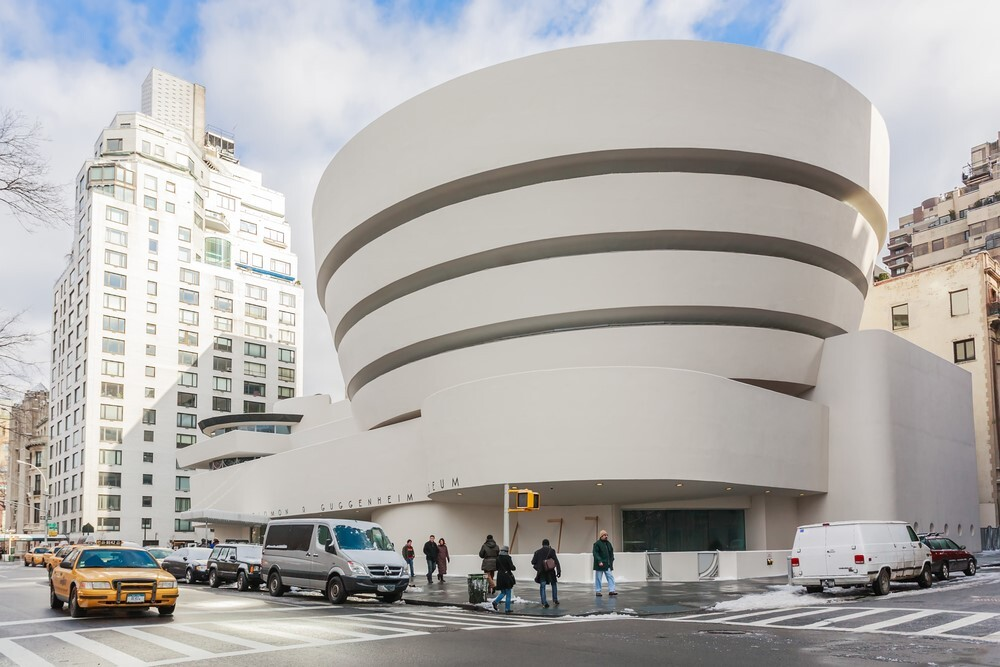 The Guggenheim Museum is a monument to Mid Century Modern Architecture.