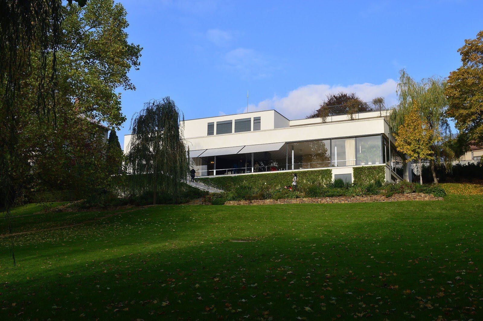 Van der Rohe's Villa Tugendhat in the Czech Republic | Photo courtesy of Petr1987 and Wikimedia Commons