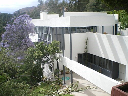 Neutra's Lovell house is considered one of his masterpieces.