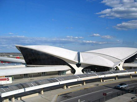 Sarrinen's TWA Center at JFK Airport in New York