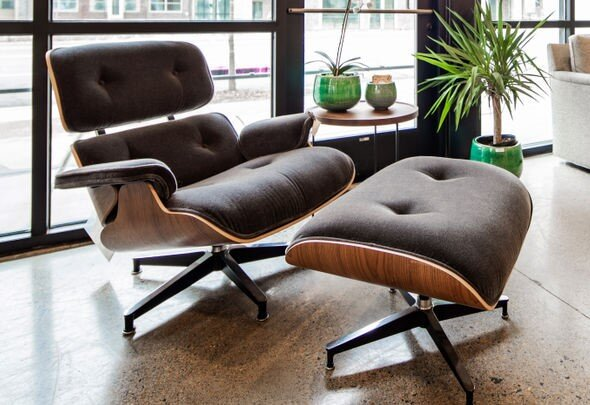 Eames Lounge Chairs now sell for $5,000 and up.